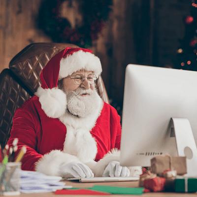 Enjoy an Individual Live Video Call with Santa, This Christmas!
