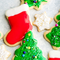 Classic Christmas Sugar Cookie by It's Fitting – Mrs. Claus Recipe