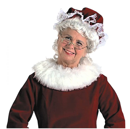 Mrs. Claus is old. She has some very yummy recipes – Talk to Santa