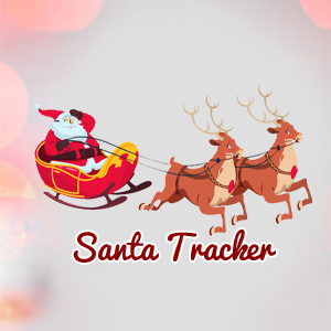 Santa Tracker- Track Santa's Sleigh | Watch Santa's Sleigh Fly Over.