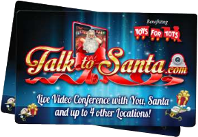 Live Video Conference with You. Santa and up to 4 other Location!
